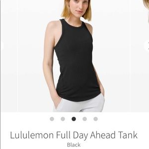 Lululemon full day a head tank